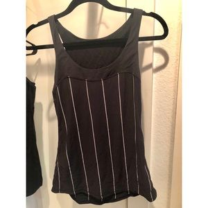 Lululemon athletic tank top.